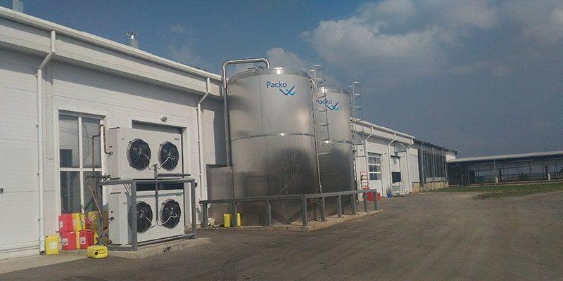 Оборудование для охлаждения и хранения молока